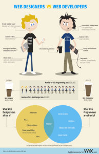 differenze tra web designer e web developer