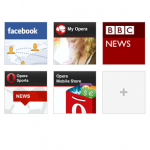 Opera Mobile news speed dial