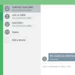 pushbullet send file some device